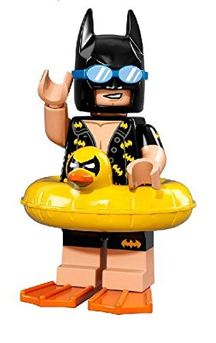 Lego The Batman Movie – Vacation Batman Minifigure – 71017 (bagged)