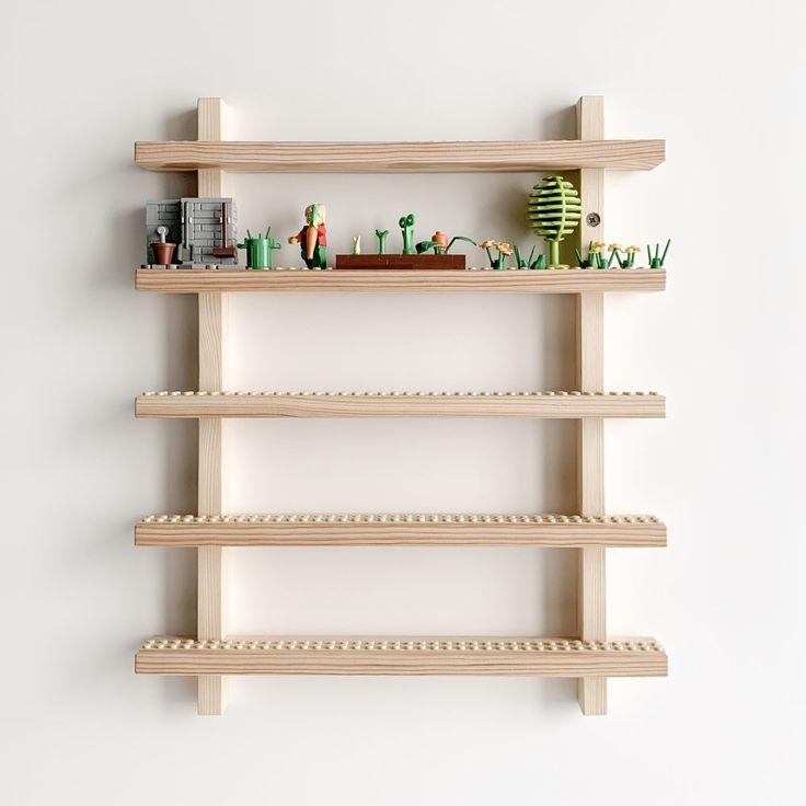 LEGO Minifigure display and storage.. rak by brüün