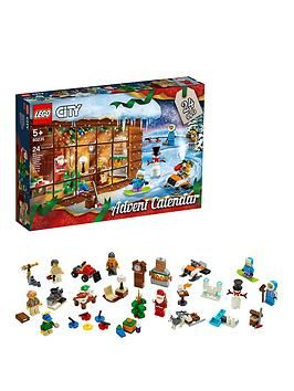 Lego City 60235 Advent Calendar 2019 With Father Christmas Minifigure in One Colour