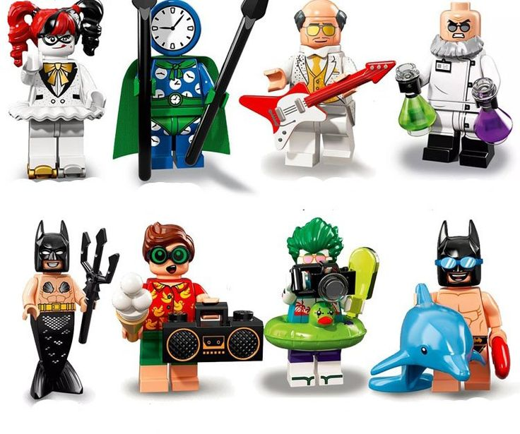Minifigures sets Mermaid Batman Joker minifigures Lego Compatible Toy,Travel se…