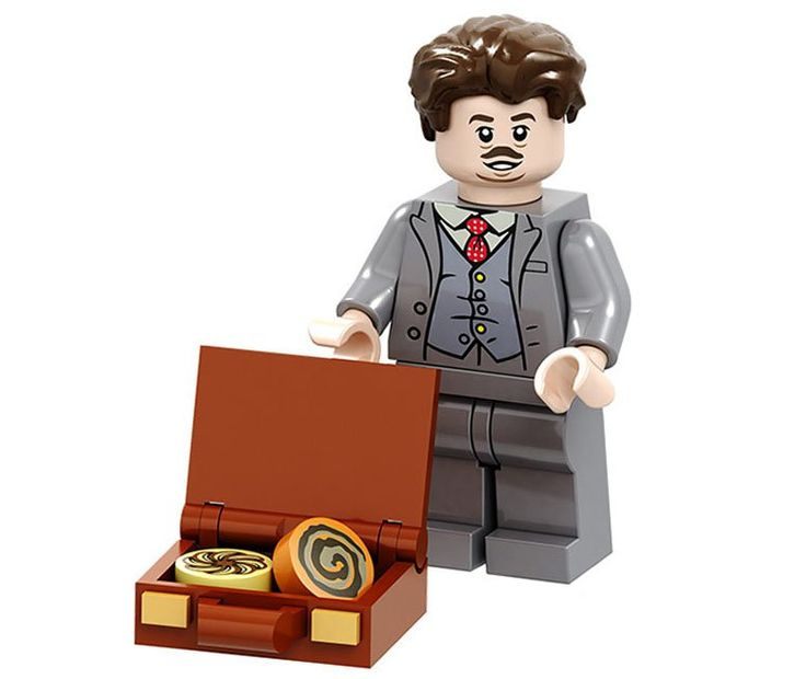 Jacob Kowalski Minifigures Compatible Lego Toy Harry Potter Minifigure