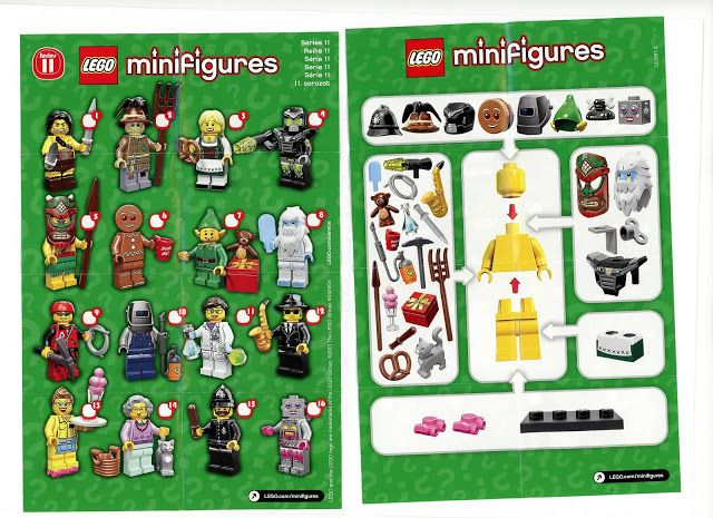 Toyriffic: Lego Minifigures Series 11 REVEALED!!!