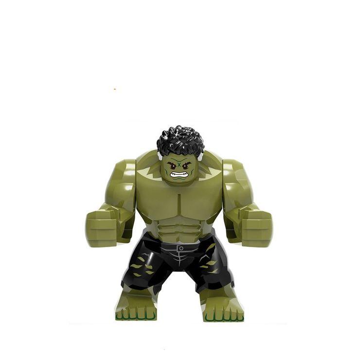 Avengers Infinity War Hulk Groot Minifigures Lego Marvel Super Heroes Compatible Toys