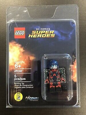 LEGO SDCC COMIC CON 2016 EXCLUSIVE ATOM MINIFIGURE DC SUPER HEROES LEGENDS