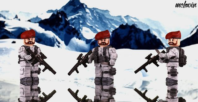 SAS Commando Custom Minifigure