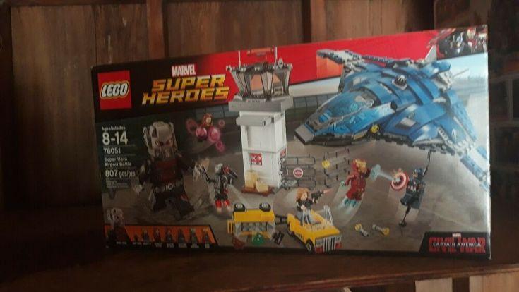 LEGO Marvel Super Heroes 76051 Airport Battle CIVIL WAR BRAND NEW SEALED RETIRED