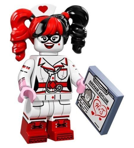 Lego The Batman Movie – Nurse Harley Quinn Minifigure – 71017 (bagged)
