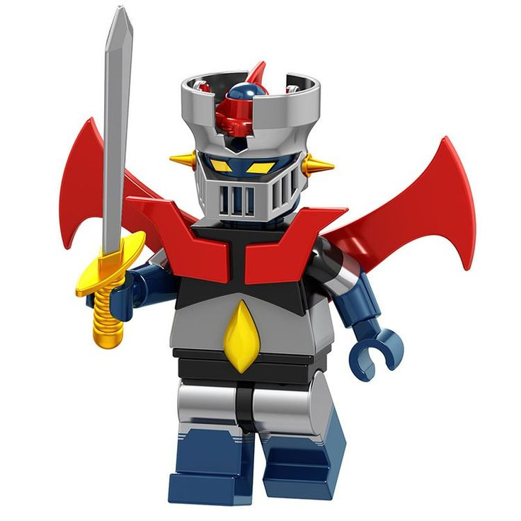 Mazinger Z minifigures Japan Comic building block Toy Compatible Lego Comic minifigures