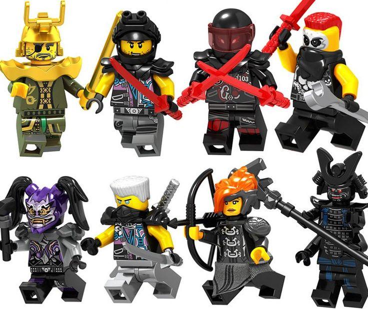 2018 Ninjago Characters and Minifigures Lego Minifigures Compatible Toy