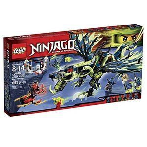レゴLEGO Ninjago 70736 Attack of The Morro Dragon Building Kit