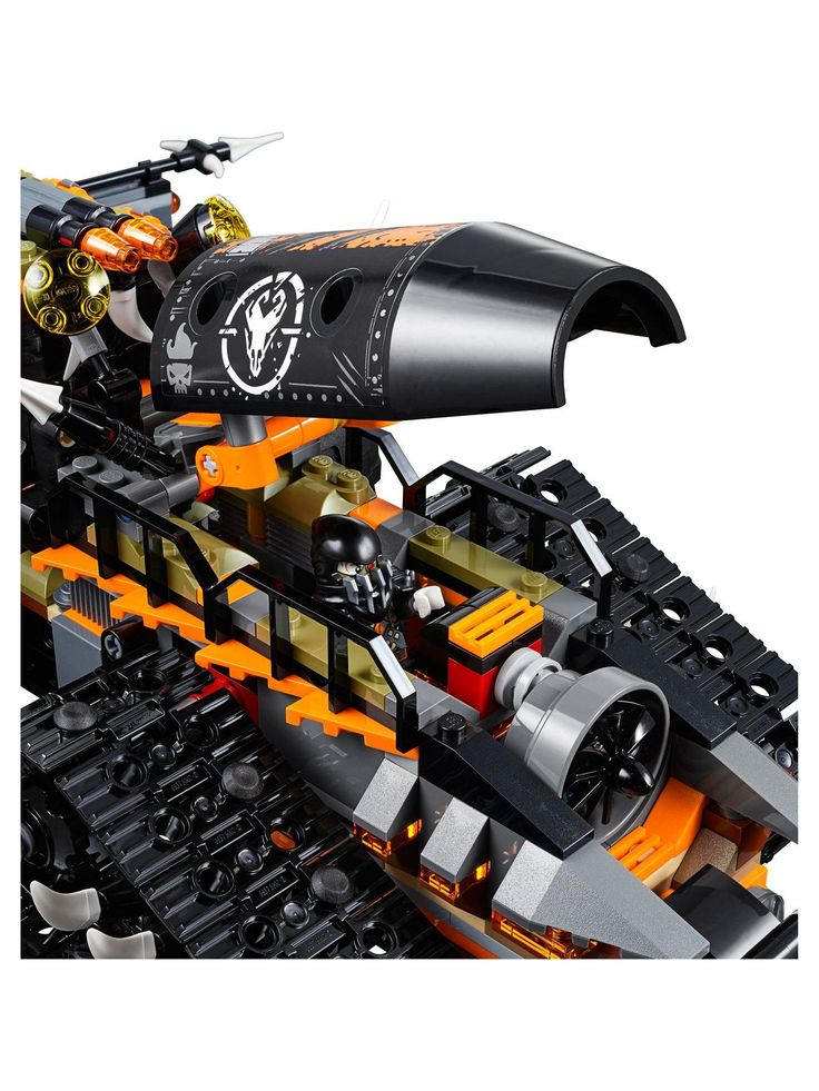 Lego Ninjago 70654 Dieselnaut Vehicle – One Colour –