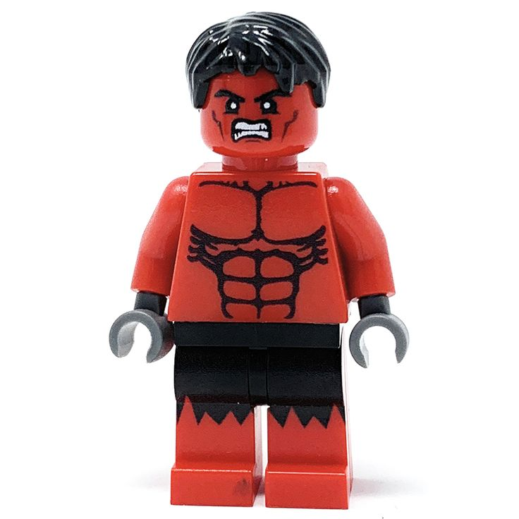 Big Red – Custom LEGO Minifigure w/ Display Case