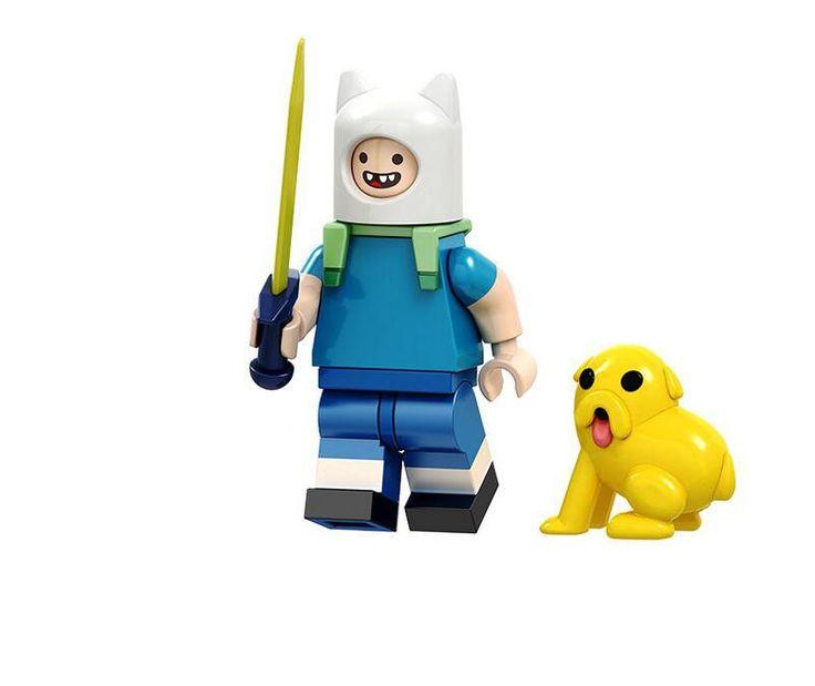Finn Minifigures Adventure Time Comic Toy Compatible Lego Comic Minifigure