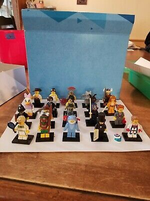 (eBay Ad Url) LEGO COLLECTIBLE MINIFIGURES series Lot Of 20 – Series, 7, 10, 11,…