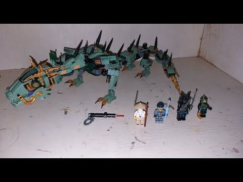 LEGO Compatible Green Dragon Ninjago[ZIMO] – YouTube