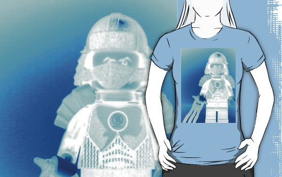 'TMNT Teenage Mutant Ninja Turtles Master Shredder Custom Minifigure ' T-Shirt by Chillee