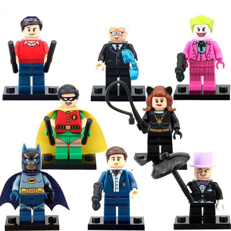 Batman Joker Minifigures DC Super Heroes Lego Minifigures Compatible Toy