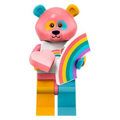 LEGO Minifigures 71025 Intergalactic Rainbow Bear   Minifigures Series 19   Coll…