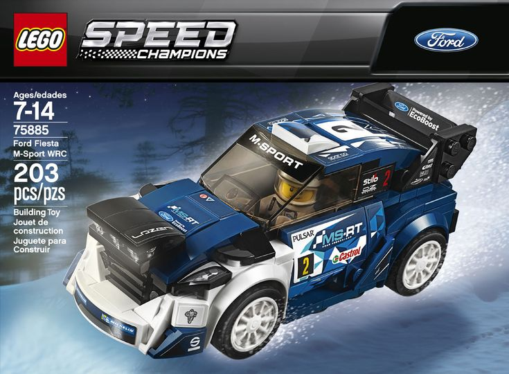 Buy LEGO Speed Champions Ford Fiesta M-Sport WRC 75885 for CAD 15.17 | Toys R Us Canada
