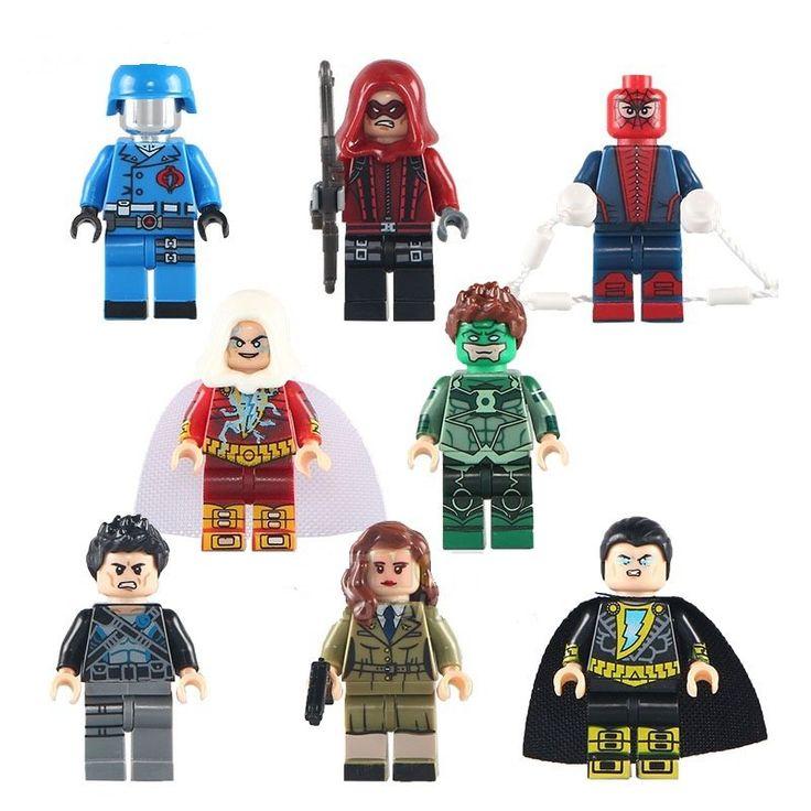 Lego Minifigure Compatible Toy Super Heros Series Colle Black Adam Arrow