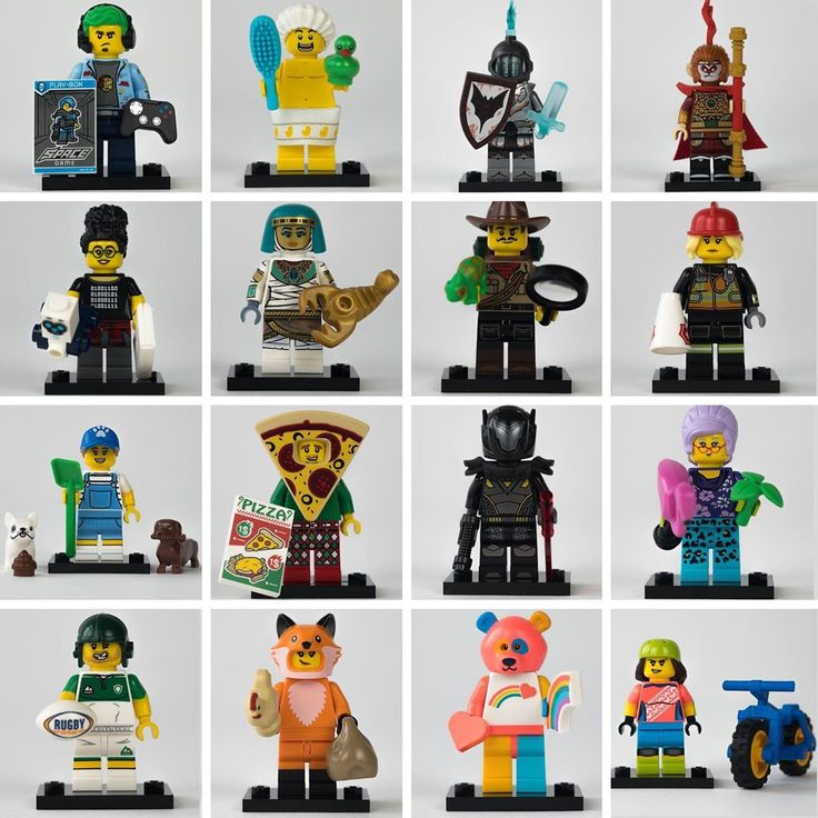 🇬🇧/🇺🇸 Full review of the LEGO 71025 Series 19 Minifigures now live o…