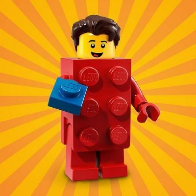 LEGO Minifigures 71021 Brick Suit Guy | Halloween Minifigures | Halloween LEGO |…