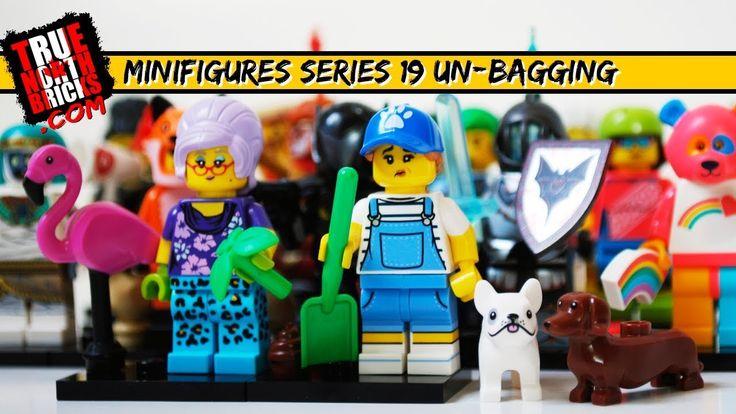 LEGO Minifigures Series 19 Un-Bagging