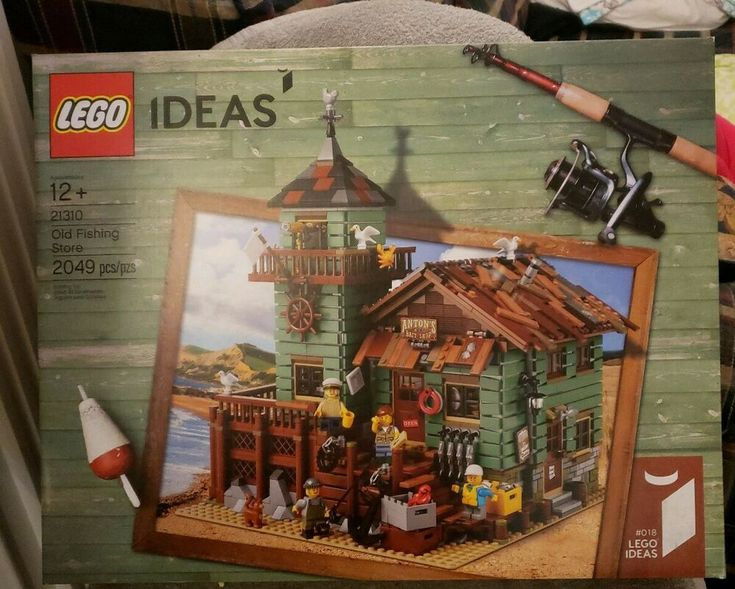LEGO Ideas Old Fishing Store 2017 (21310) New and Sealed