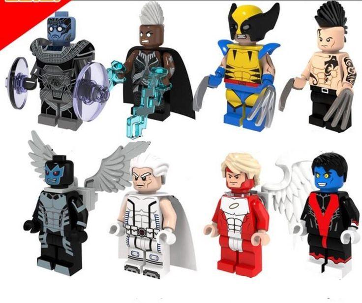 X-Men Sets Apocalypse Storm Wolverine Minifigures Lego Compatible Toys