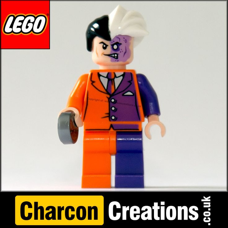 LEGO Minifigures Super Heroes Two-Face SUH007