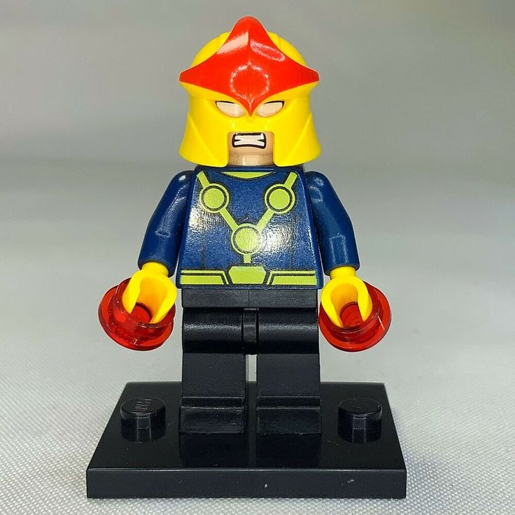 LEGO – NOVA from Set 76005 Daily Bugle Showdown Super Heroes Spider-Man sh051