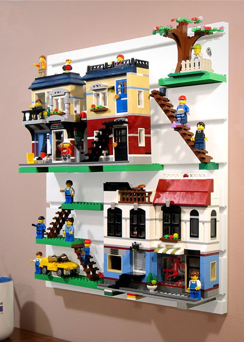 BRICK RACK | Display and Organize your LEGO sets, minifigures and Creations | GA…