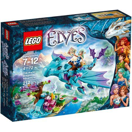 LEGO Elves The Water Dragon Adventure, 41172 – Walmart.com