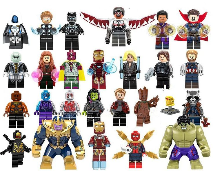 New Avengers 26 pcs Marvel Super Heroes Minifigures Lego Toys Compatible