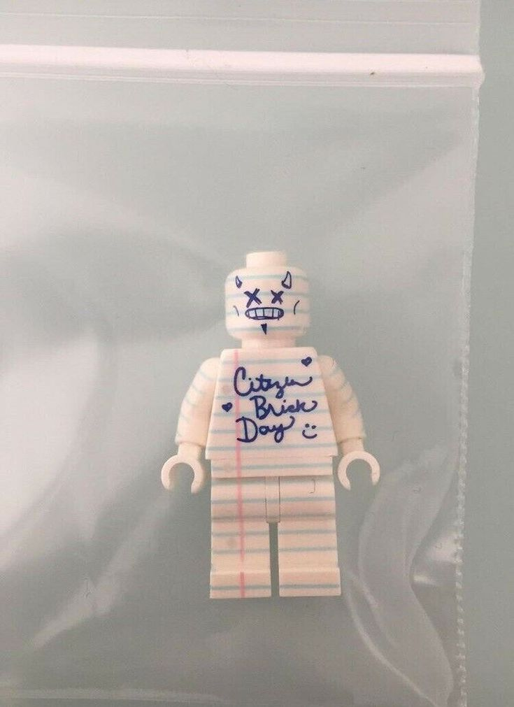 Doodle Citizen Brick Rare Minifigure CBDAY 6 | eBay
