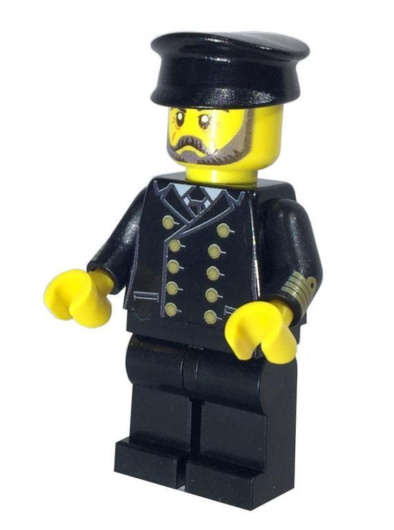 I. C. Berg Captain Custom LEGO Minifigure LIMITED EDITION