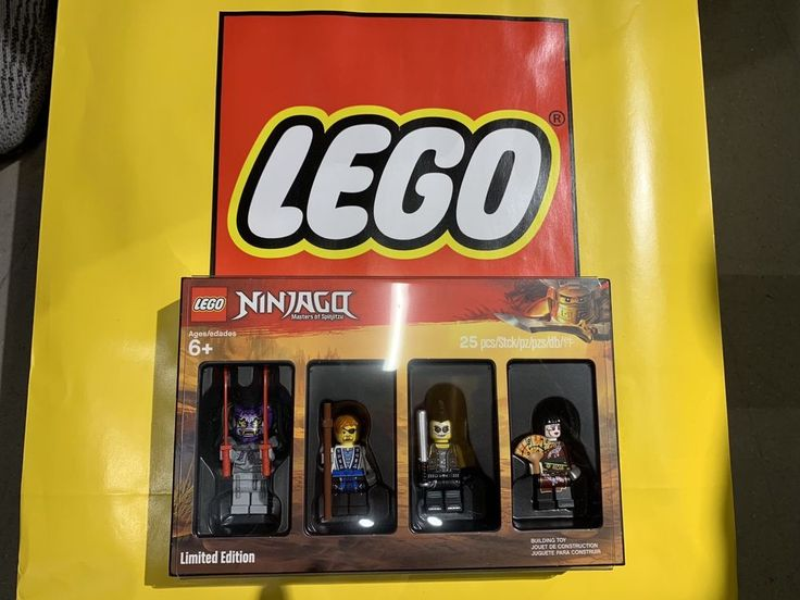 "New LEGO 5005257 Ninjago 2018 ""Bricktober"" Minifigure Set – Sealed Free Ship!"