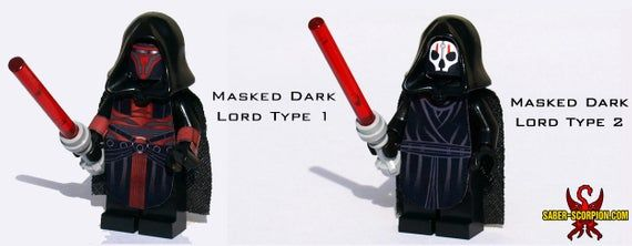 Space Wars Dark Lords Custom Minifigures