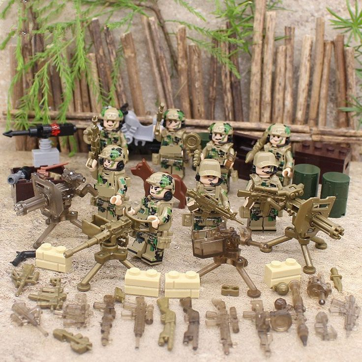Military Sets Delta Force minifigures Lego Compatible Toys