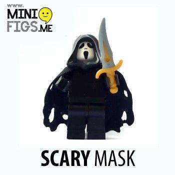 Lego-Scream-Face-Ghost-Custom-Minifigure
