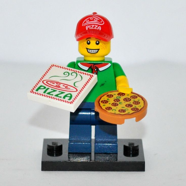 Genuine LEGO Minifigures Series 12 – Pizza Delivery Man 71007-11, Collectable Mi…