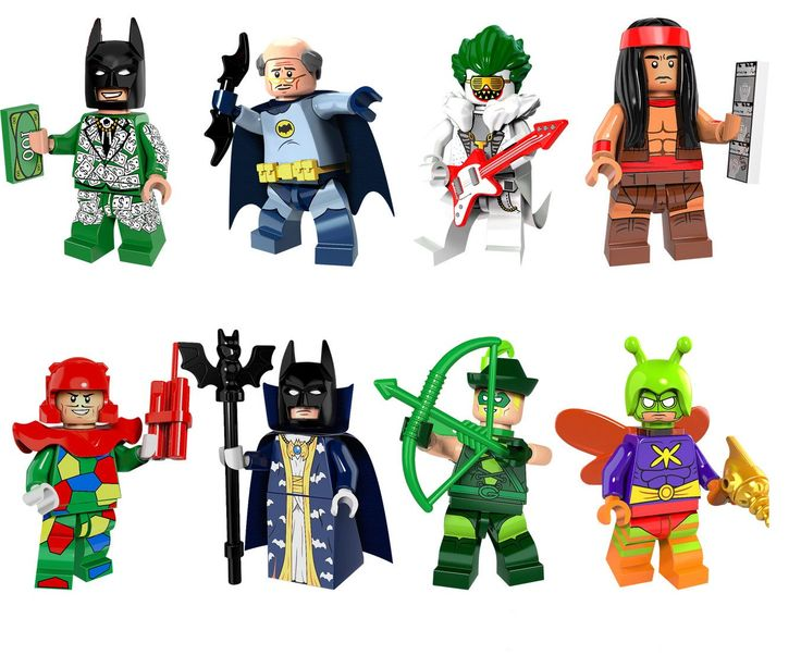 Batman Movie minifigures Cosplay Lego Minifigures sets Compatible Toys