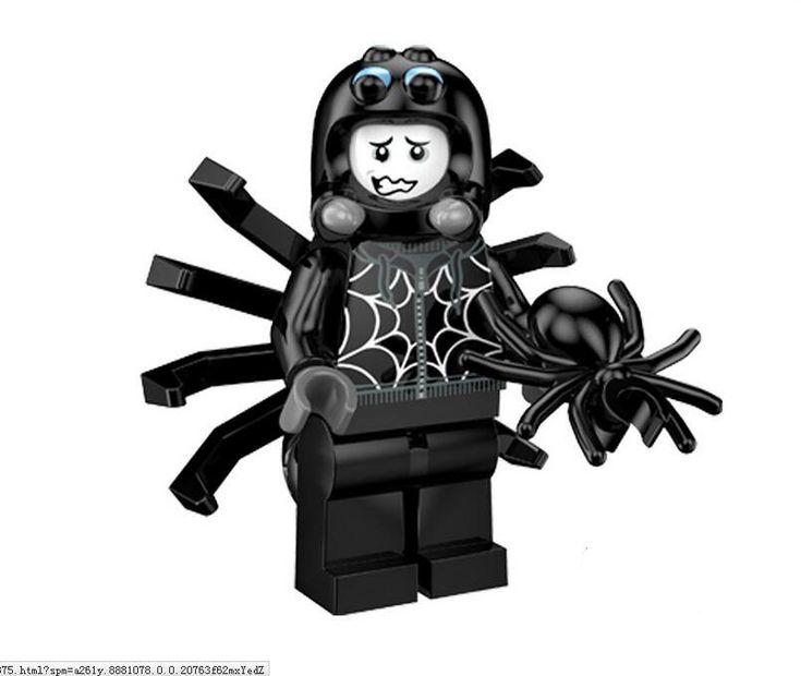 Spider Suit Boy Minifigures Compatible Lego Minifigure Series 18