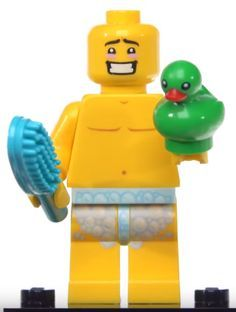 Lego made a naked minifigure! Bit racy!