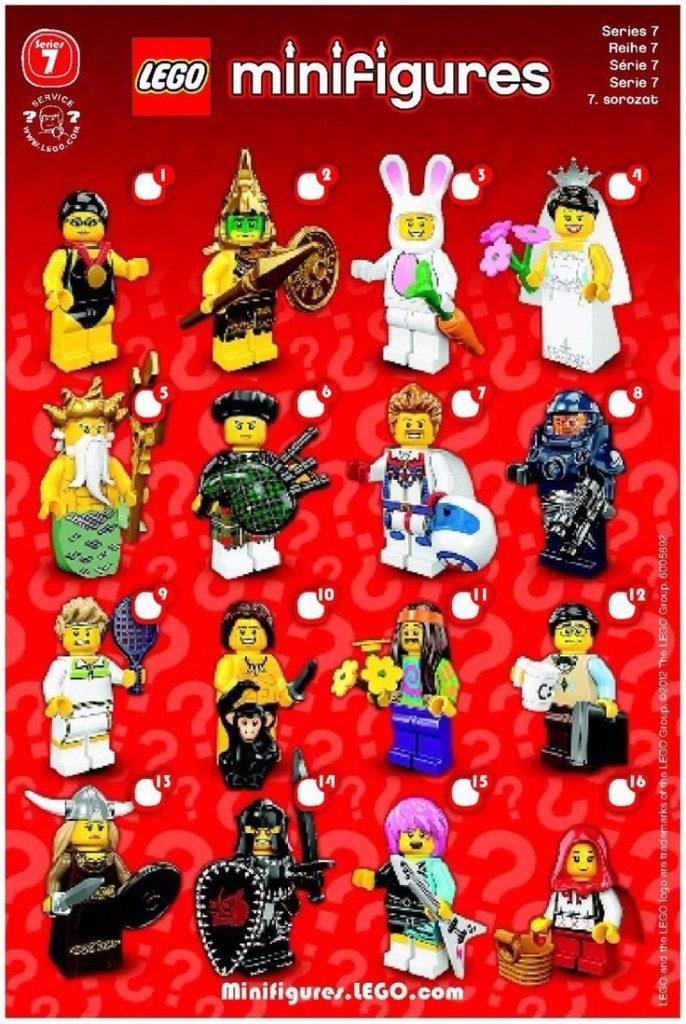 Resultado de imagem para lego minifigures series 7