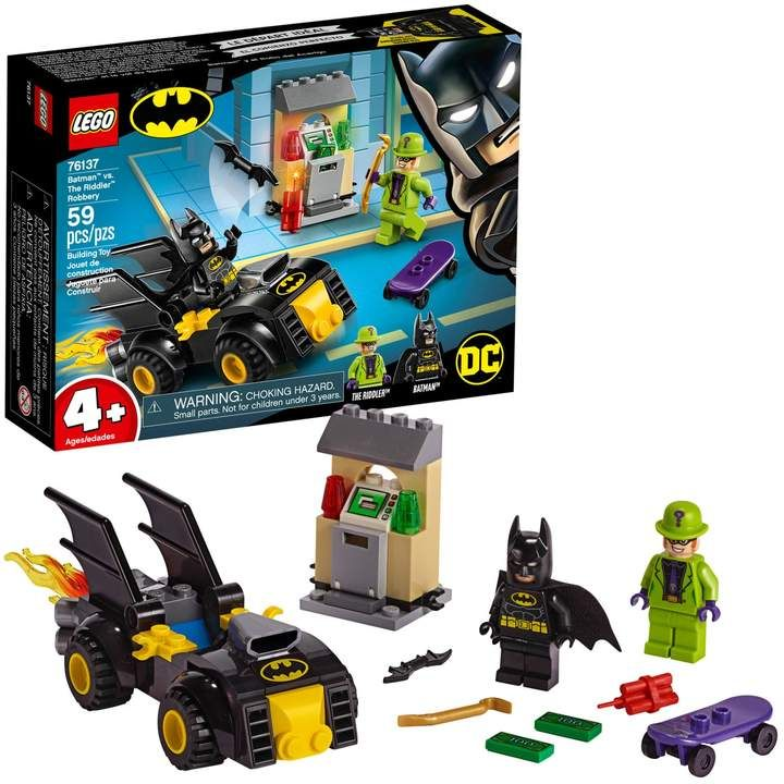 Lego Super Heroes Batman vs. The Riddler Robbery Set 76137