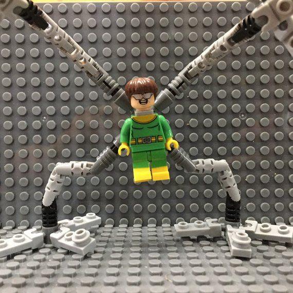 Doctor Octopus Custom Minifigure Marvel Universe Custom Minifigures  Spider-Man …