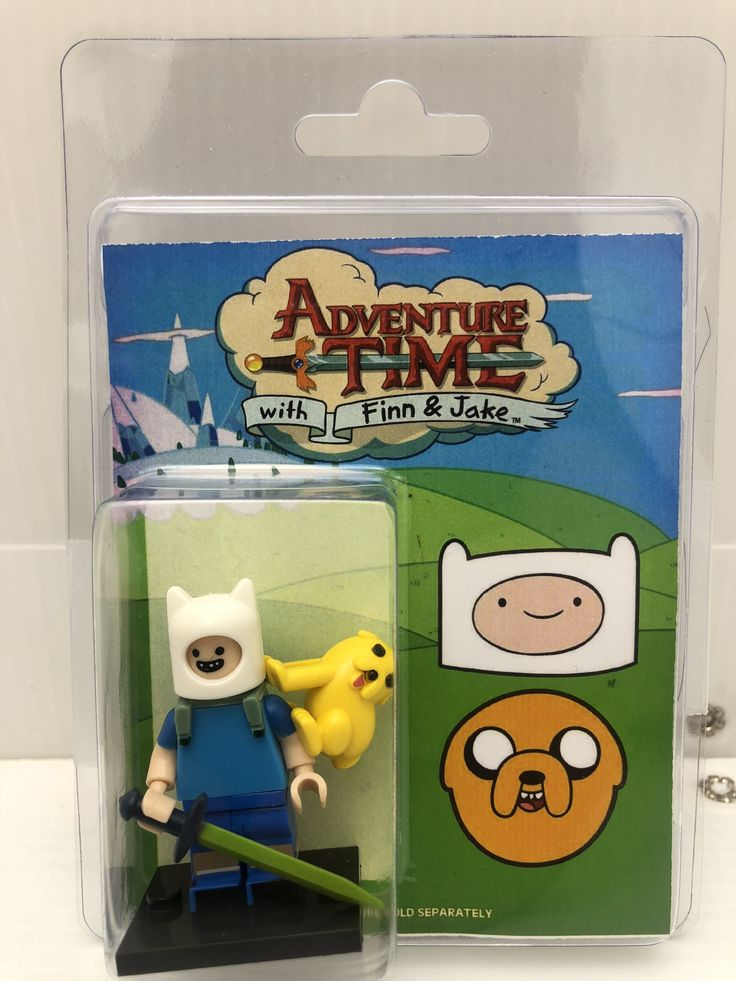Custom Minifigure Protector Case Adventure Time Finn Jake