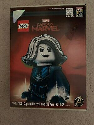 SDCC 2019 Comic Con Exclusive Lego Captain Marvel Limited Edition Set With Bag