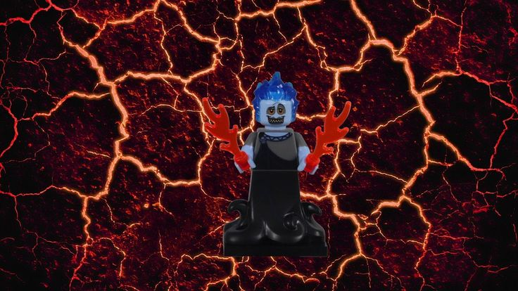 Stop Motion Build LEGO Hades Minifigure 71024-13 Collectable Disney Mini…
